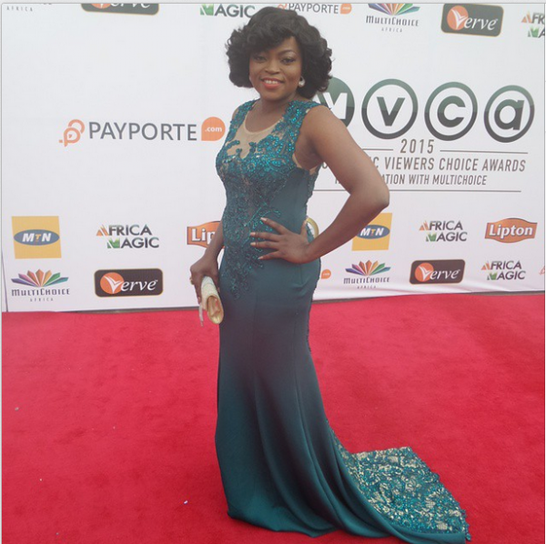 AMVCA 2015 - Funke Akindele LoveweddingsNG Red Carpet to Aisle
