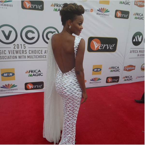 AMVCA 2015 - Kehinde Bankole LoveweddingsNG Red Carpet to Aisle