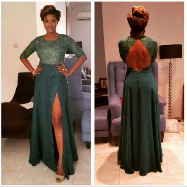 AMVCA 2015 - Kiki Omeili LoveweddingsNG Red Carpet to Aisle