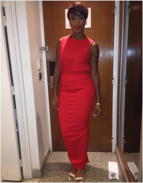 AMVCA 2015 - Maria Okan LoveweddingsNG Red Carpet to Aisle