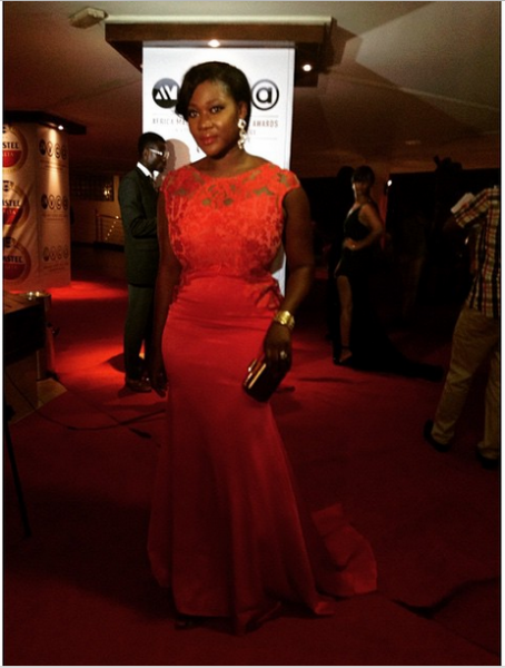 AMVCA 2015 - Mercy Johnson Okojie LoveweddingsNG Red Carpet to Aisle1