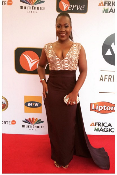 AMVCA 2015 - Moet Abebe LoveweddingsNG Red Carpet to Aisle