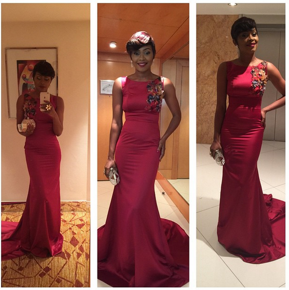 AMVCA 2015 - Tana Adelana LoveweddingsNG Red Carpet to Aisle