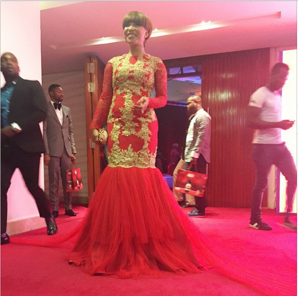 AMVCA 2015 - Tonto Dikeh LoveweddingsNG Red Carpet to Aisle