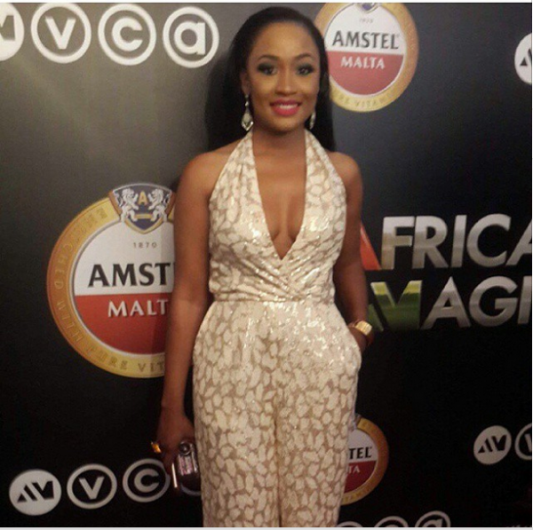 AMVCA 2015 - Uru Eke LoveweddingsNG Red Carpet to Aisle