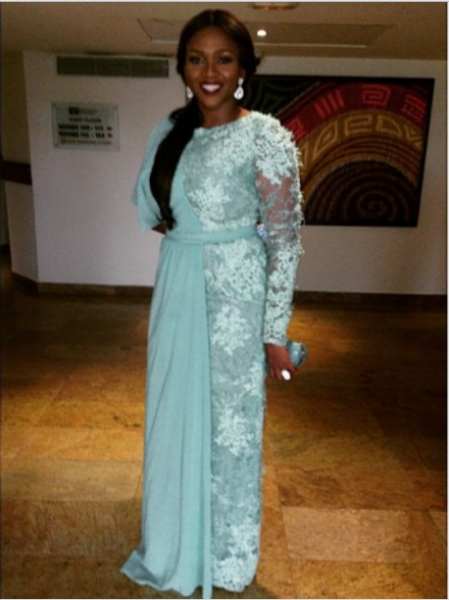 AMVCA 2015 - Waje Iruobe LoveweddingsNG Red Carpet to Aisle
