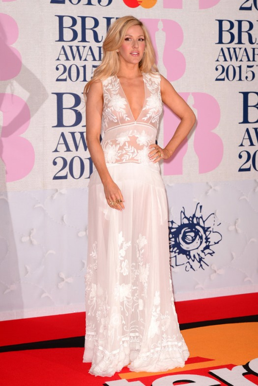 BRIT Awards 2015 - Ellie Goulding LoveweddingsNG