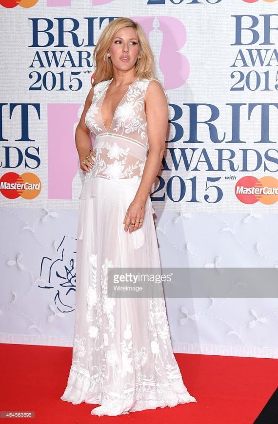 BRIT Awards 2015 - Ellie Goulding LoveweddingsNG2