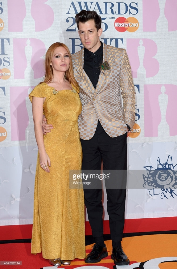 BRIT Awards 2015 - Josephine de la Baume and Mark Ronson  LoveweddingsNG