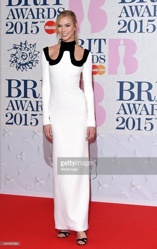 BRIT Awards 2015 - Karlie Kloss  LoveweddingsNG1