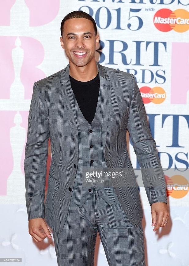 BRIT Awards 2015 - Marvin Humes LoveweddingsNG1