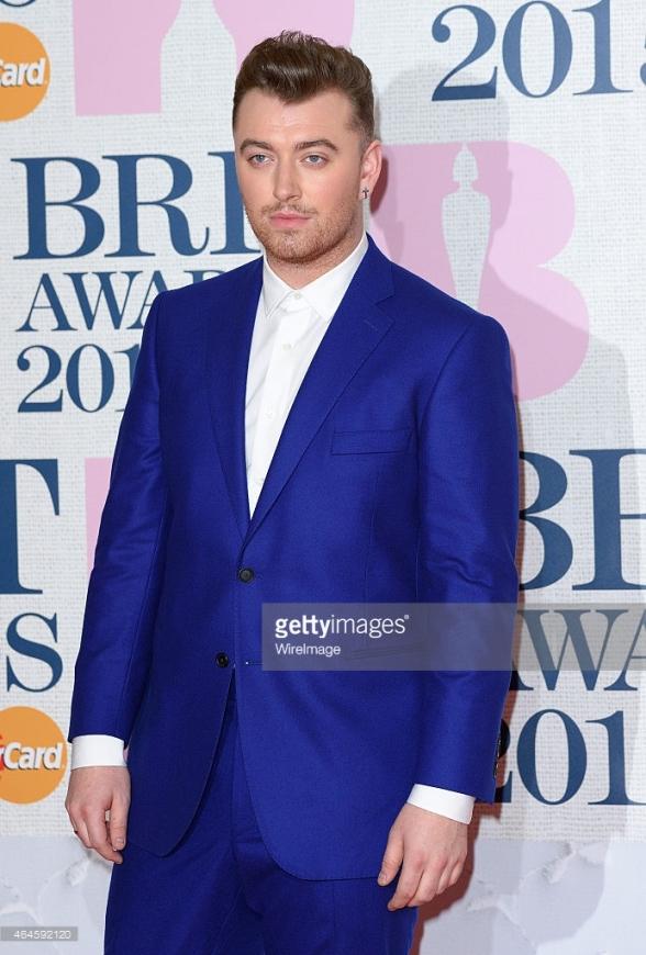 BRIT Awards 2015 - Sam Smith LoveweddingsNG1
