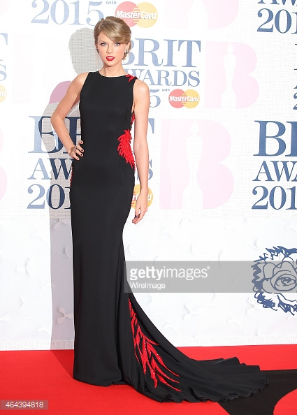 BRIT Awards 2015 - Taylor Swift LoveweddingsNG2