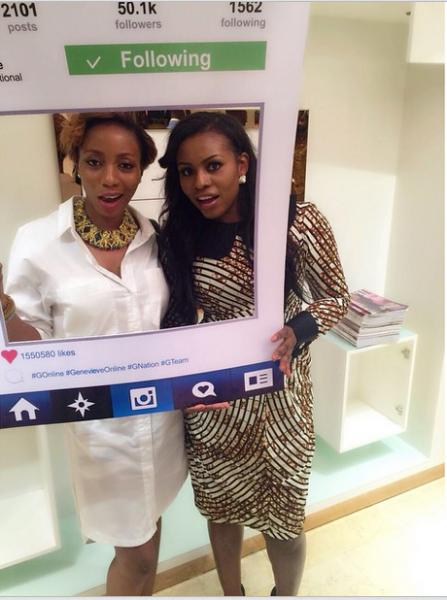 Genevieve Magazine Website Launch - Abbykedomina & Liz Awoliyi