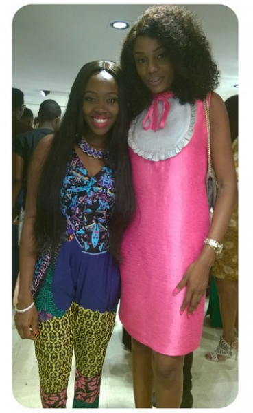 Genevieve Magazine Website Launch - Ariyike Akinbobola & Ono Bello