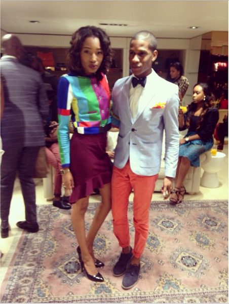 Genevieve Magazine Website Launch - Jessica Ulo and Denola Grey