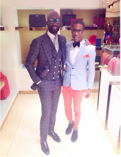 Genevieve Magazine Website Launch - Mai Atafo & Denola Grey