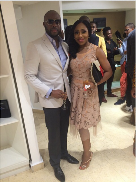 Genevieve Magazine Website Launch - Olu and Dakore Akande
