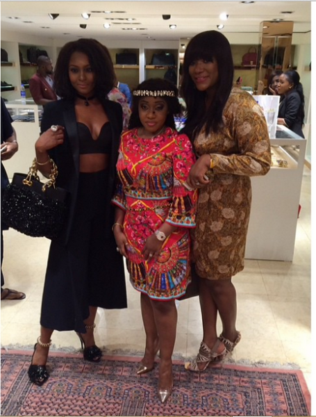 Genevieve Magazine Website Launch - Osas Ighodaro, Jennifer Obayuwana & Bola Balogun