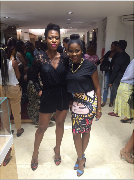 Genevieve Magazine Website Launch - Shade Onakoya & Ezinne Chinkata