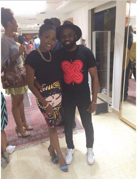 Genevieve Magazine Website Launch - Shade Onakoya & Noble Igwe