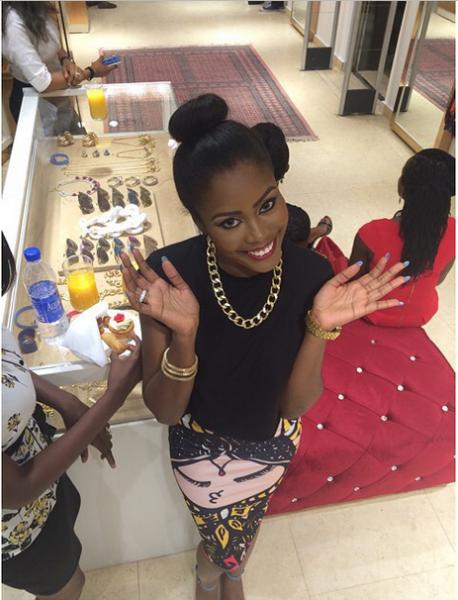 Genevieve Magazine Website Launch - Shade Onakoya