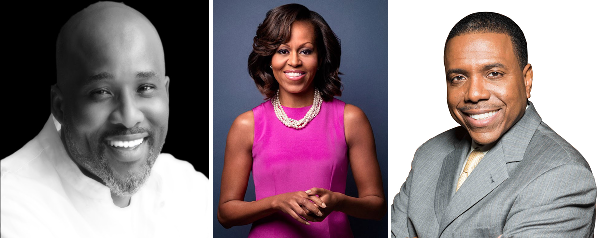 LoveweddingsNG Lanre Olusola, Michelle Obama and Creflo Dollar