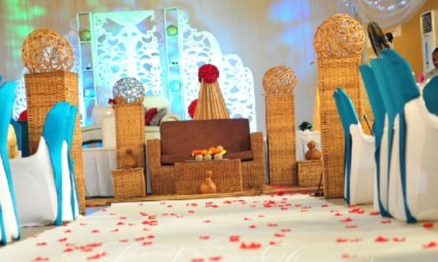 LoveweddingsNG Nigerian Traditional Wedding Decor Ladysan Decor1