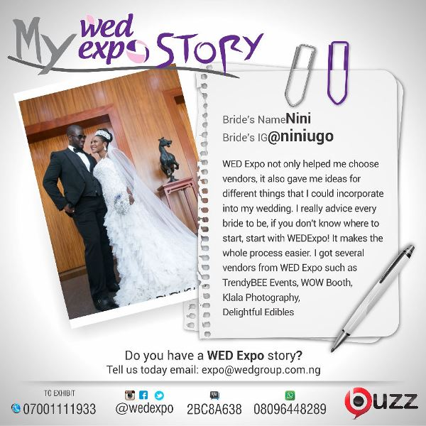 LoveweddingsNG Wed Expo Story - Nini