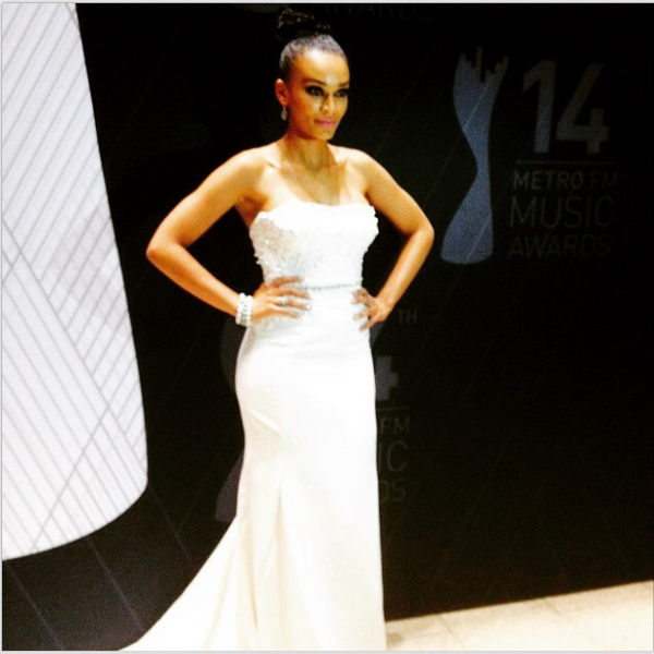 Metro FM Music Awards- Pearl Thusi LoveweddingsNG1