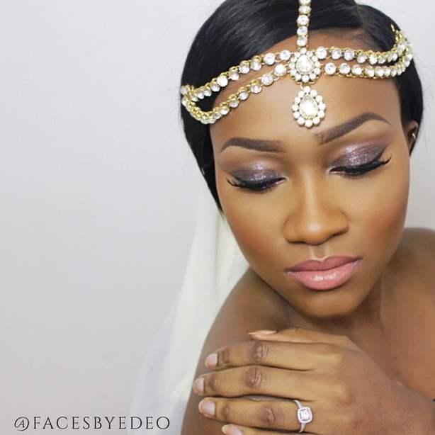 Nigerian Bridal Inspiration Faces by Edeo LoveweddingsNG2