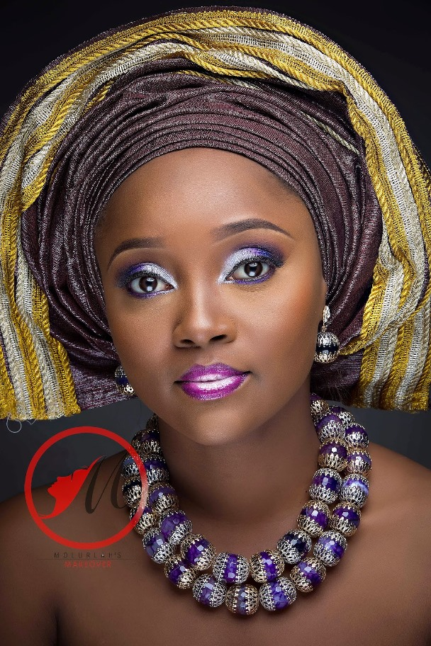 Nigerian Traditional Bridal Makeup Molurlahs Makeover LoveweddingsNG6