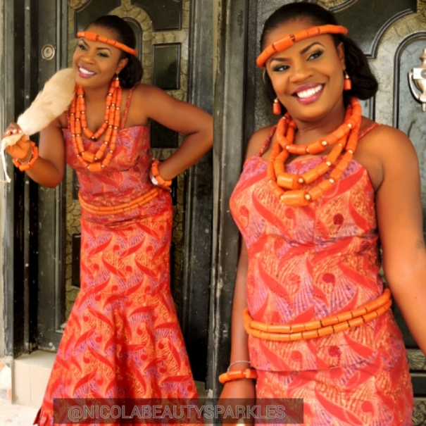 Nigerian Traditional Bride Nicola Beauty Sparkles LoveweddingsNG1