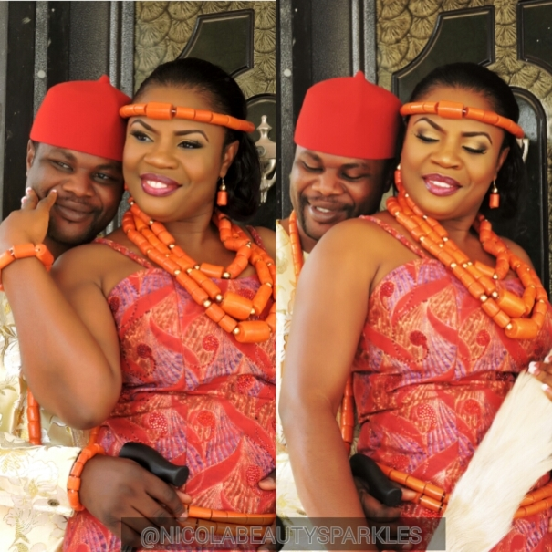 Nigerian Traditional Bride Nicola Beauty Sparkles LoveweddingsNG2