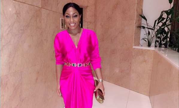Rita Dominic Is Pretty In Pink