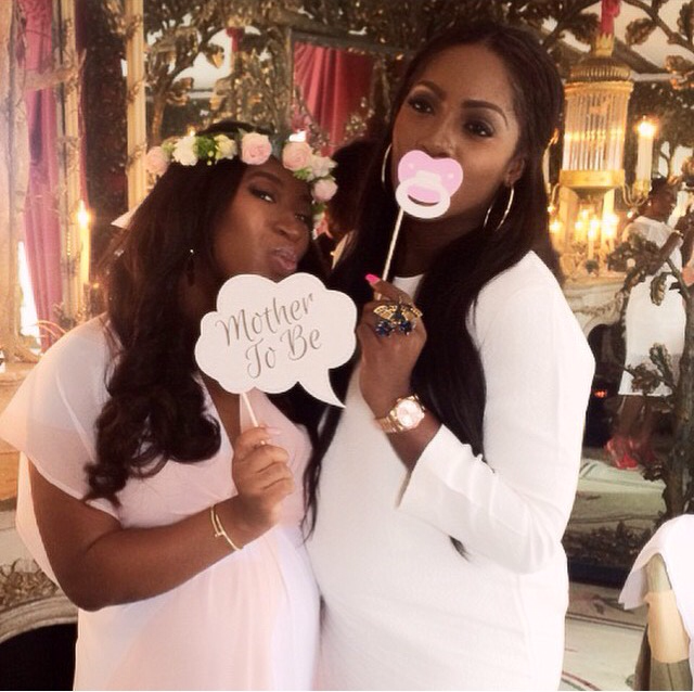 Simi Osomo Baby Shower - Tiwa Savage LoveweddingsNG2
