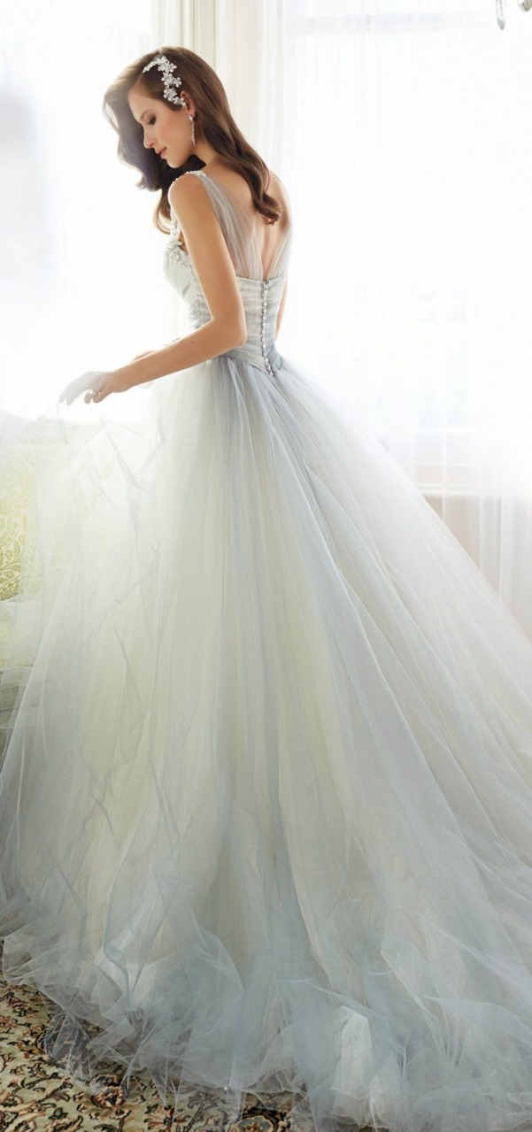 Sophia Tolli 2015 Bridal Collection - LoveweddingsNG1
