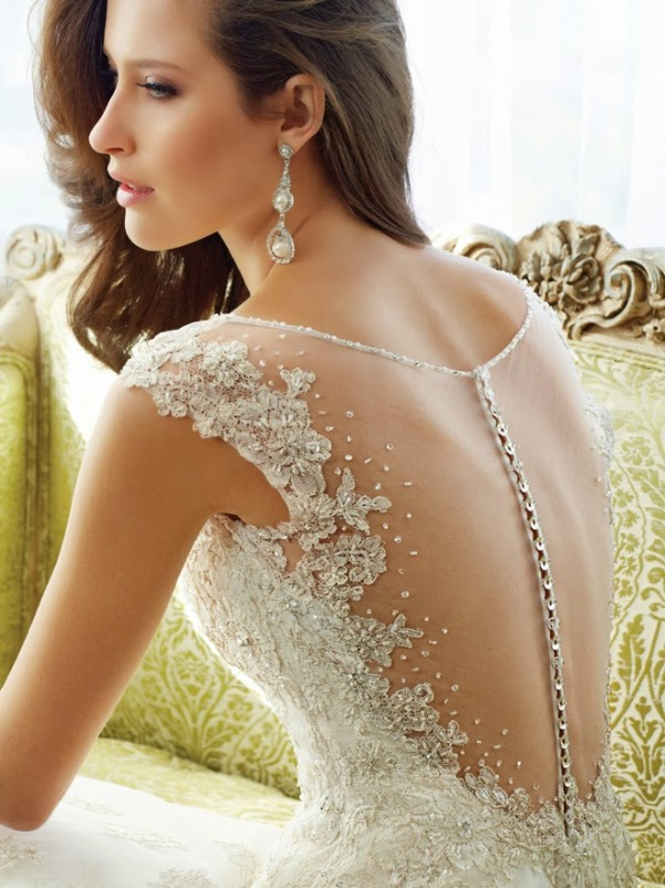 Sophia Tolli 2015 Bridal Collection - LoveweddingsNG12