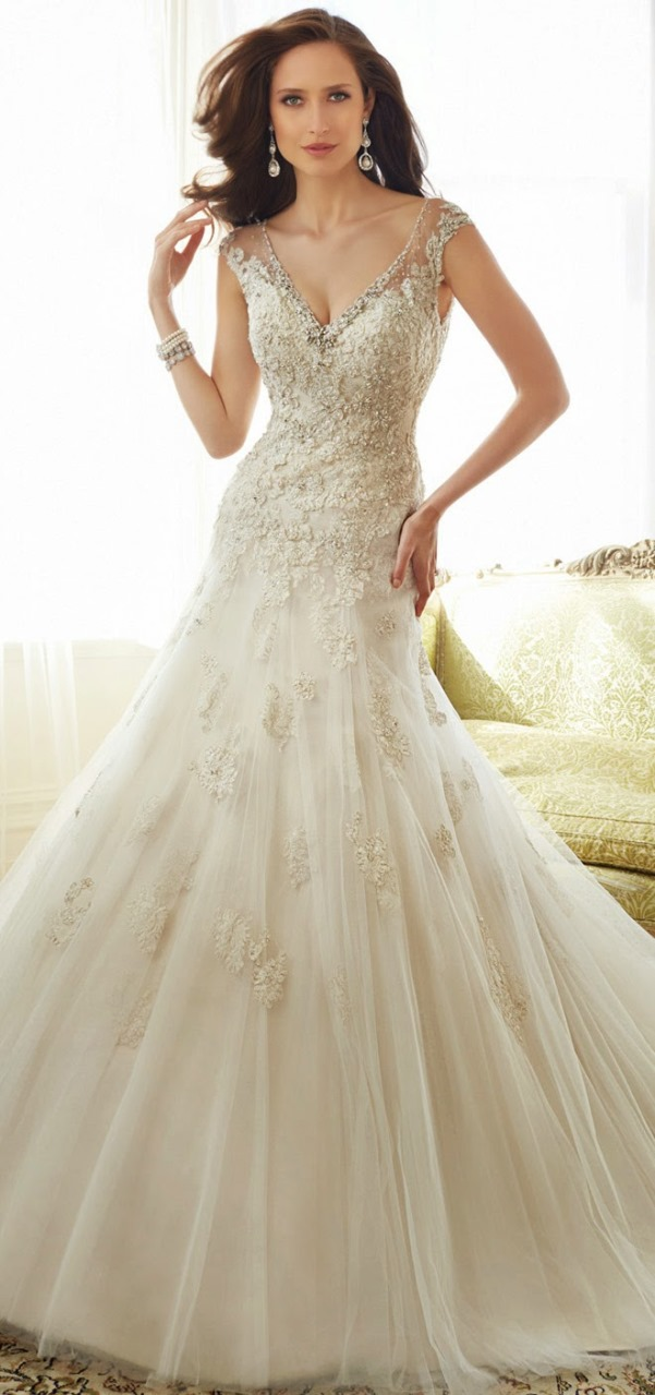 Sophia Tolli 2015 Bridal Collection - LoveweddingsNG15