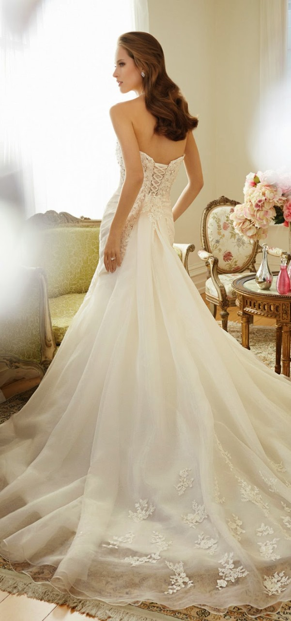 Sophia Tolli 2015 Bridal Collection - LoveweddingsNG16