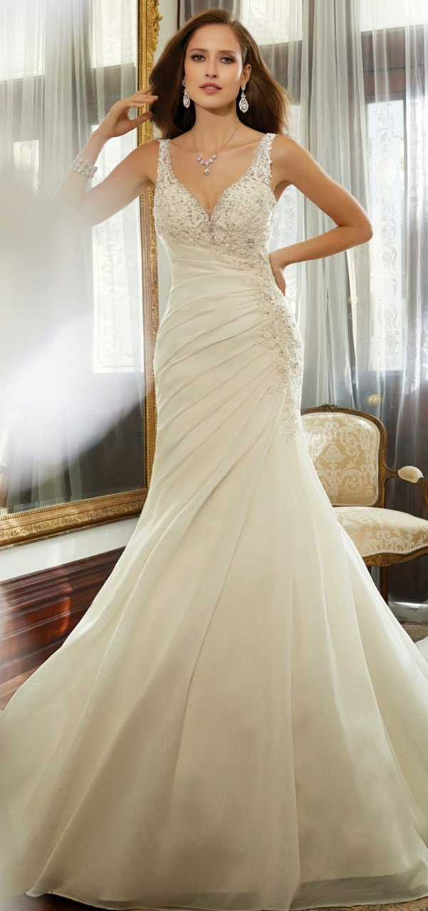 Sophia Tolli 2015 Bridal Collection - LoveweddingsNG23