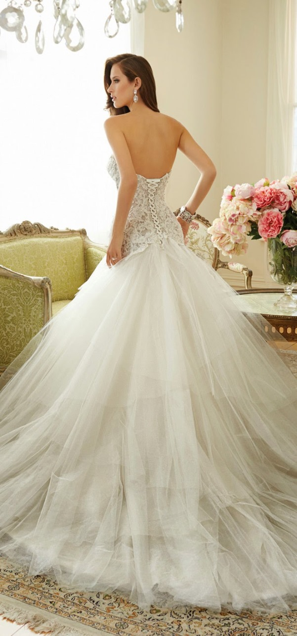 Sophia Tolli 2015 Bridal Collection - LoveweddingsNG24