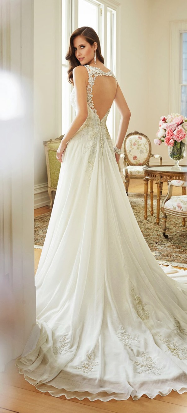 Sophia Tolli 2015 Bridal Collection - LoveweddingsNG46