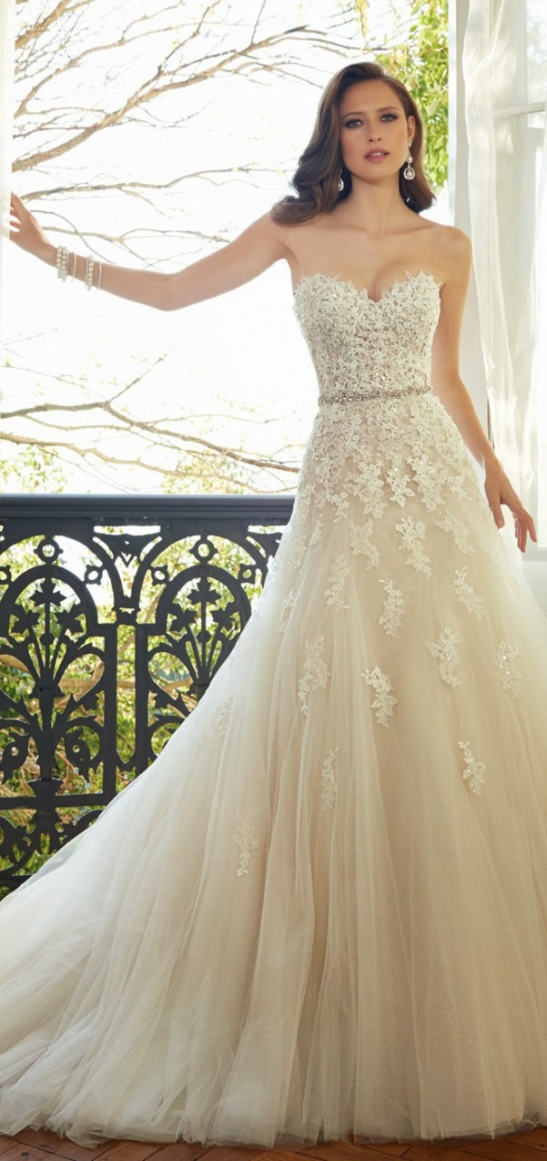 Sophia Tolli 2015 Bridal Collection - LoveweddingsNG7