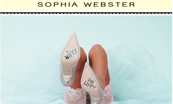 Sophia Webster Bridal Shoes LoveweddingsNG feat