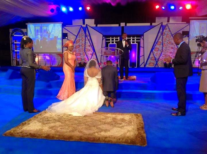 Stephen Keshis daughter - Ifeyinwa weds Emeke Enyihor LoveweddingsNG13
