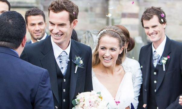 Andy Murray and Kim Sears LoveweddingsNG17