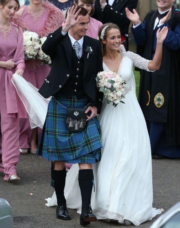 Andy Murray and Kim Sears LoveweddingsNG19