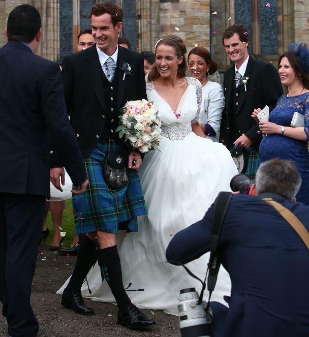 Andy Murray and Kim Sears LoveweddingsNG25