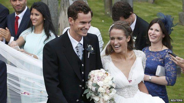 Andy Murray and Kim Sears LoveweddingsNG4